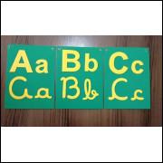 Alfabeto - 4 formas - simples