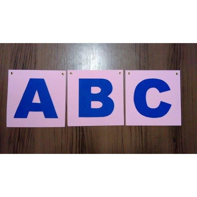 Alfabeto - Caixa Alta