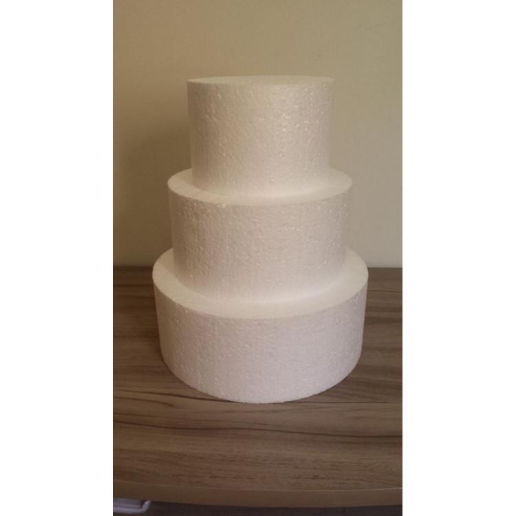Base de Isopor para bolo fake